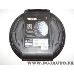 Paire chaines neige Thule 103 CK7 pour pneu roue jante 215/60/17 225/55/17 215/55/18 245/40/19 275/35/18 215 60 17 225 55 17 215