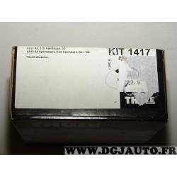 Kit pieds fixation barre de toit KIT1417 pour audi A3 3 portes partir de 2003 5 portes partir de 2004