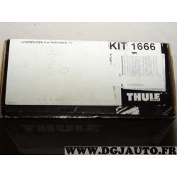Kit pieds fixation barre de toit KIT1666 pour citroen DS4 5 portes hatchback partir de 2011