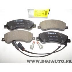 Jeux 4 plaquettes de frein avant montage bendix 0986494170 pour volkswagen amarok ford transit 6 VI