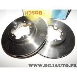 Paire disques de frein avant ventilé 280mm diametre 0986479392 pour ford transit 6 VI partir de 2006