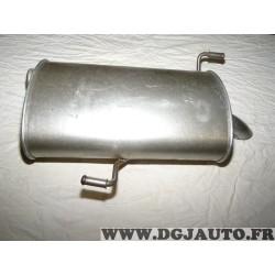 Silencieux echappement arriere 190501 pour peugeot 206 SW 1.6HDI 2.0HDI 1.6 2.0 HDI diesel