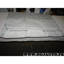 Bache plate 2300X1300 trax TR2030013 pour remorque bagagere franc trigano norauto E-leclerc