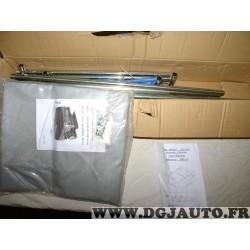 Kit arceau armature avec bache 1200x1600x400 trax 0F151659 DBD015 + 2030815 pour remorque bagagere trigano E-leclerc