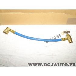 Durite tuyau flexible gaz R134A R12 circuit climatisation ESC OT10114 Kingflex retropro station nettoyage entretien climatisatio