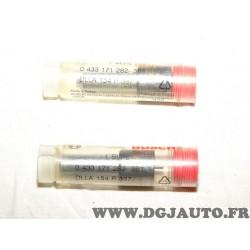 Lot 2 gicleurs tete nez injecteur carburant 0433171282 pour renault trucks