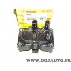 Bobine allumage 0221503487 pour ford fiesta 5 V mondeo 3 III 1.8 2.0 essence dont ST