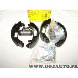 Kit frein arriere 180x42mm montage bendix 0204113611 pour renault twingo 1 partir de 1993