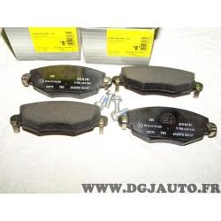 Jeux 4 plaquettes de frein avant montage bendix 0986424546 pour ford mondeo 3 III jaguar X-type