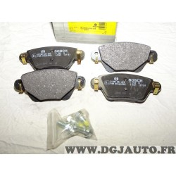Jeux 4 plaquettes de frein arriere montage lucas 0986424683 pour jaguar X-type XJ ford mondeo 3 III