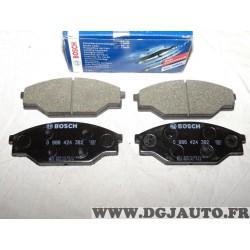 Jeux 4 plaquettes de frein avant montage akebono 0986424382 pour volkswagen taro toyota hiace hilux dyna