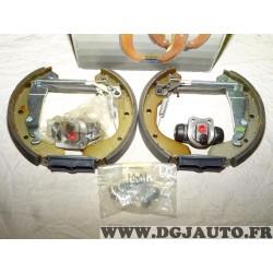 Kit frein arriere prémonté 200x29mm montage GM 0204114522 pour opel corsa A kadett D E