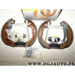 Kit frein arriere prémonté 230x42mm 0204114634 pour audi 80 100 seat inca volkswagen caddy 2 II golf 3 III passat B3 B4