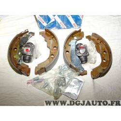 Kit frein arriere 228.6x42mm montage bendix 0204113669 pour peugeot 406 dont coupé