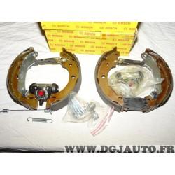 Kit frein arriere 203.2x39mm montage bendix 0204114856 pour renault kangoo nissan kubistar