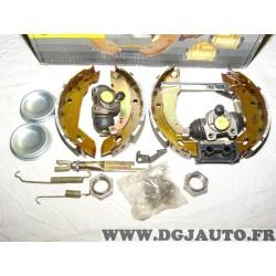 Kit frein arriere prémonté montage TRW 180x30mm 0204114533 pour peugeot 306