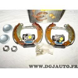 Kit frein arriere prémonté montage bendix 180x30mm 0204114129 pour peugeot 206 206+