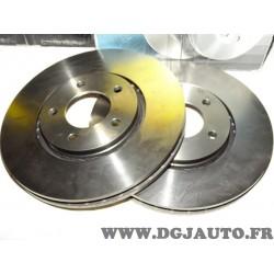 Paire disques de frein avant ventilé 302mm diametre 0986479117 pour chrysler voyager 4 IV partir de 2000
