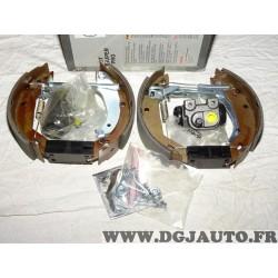 Kit frein arriere prémonté montage lucas 180x42mm 0204114502 pour renault clio 1 super 5