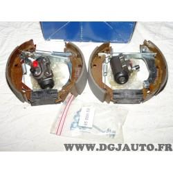Kit frein arriere prémonté montage lucas 180x42mm 0204114552 pour renault clio 1