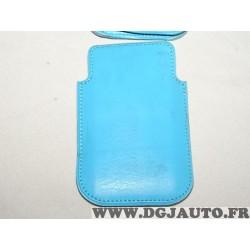 Etui pochette bleu protection telephone portable mobile GSM Auxence