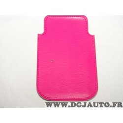 Etui pochette rose protection telephone portable mobile GSM Auxence