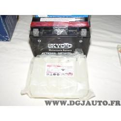 Batterie moto avec acide Kyoto YTX24HL-BS 12V 21Ah pour arctic Cat ATV TRV prowler bombardier can Am GS XT harley davidson FLH F