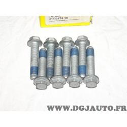 Lot 8 vis fixation volant moteur embrayage 411017410 pour mini cooper 1.6 S works 163CV 170CV 200CV 210CV 218CV R50 R52 R53