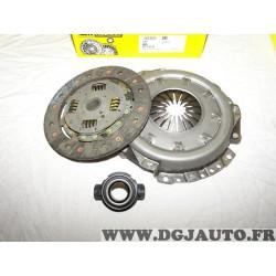 Kit embrayage disque + mecanisme + butée 619076300 pour rover 114 214 414 1.4 essence dont GTI