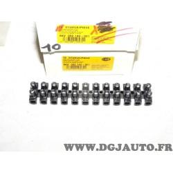 Barette 12 dominos connecteur raccord cable faisceau electrique Hella 8KV002140-001 universel
