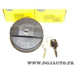 Bouchon reservoir carburant avec système verrouillage 60mm int 95mm ext 8XY004735-041 adaptable universel pour poids lourd tract