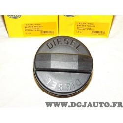 Bouchon reservoir carburant 60mm int 95mm ext 8XY004735-031 adaptable universel pour poids lourd tracteur engin agricole chantie