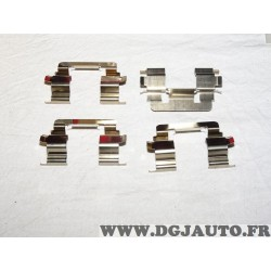 Kit ressort montage plaquettes de frein montage lucas sur etrier K0266 pour honda accord CK CG CH CL CF toyota corolla E110