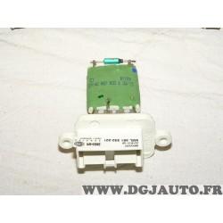 Resistance pulseur air chauffage ventilation 9ML351332-221 pour opel meriva A partir de 2003