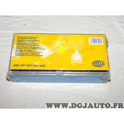 Boite ampoules lampe tableau de bord 24V 8GA007997-921 pour poids lourd mercedes iveco man volvo