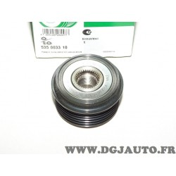 Poulie alternateur 535003310 pour chevrolet silverado trailblazer saab 9-7X 6.0 essence 6.6D 6.6 D diesel