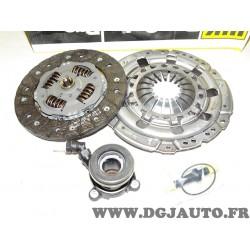 Kit embrayage disque + mecanisme + butée hydraulique 621237833 pour opel astra G corsa C meriva A signum vectra B C zafira A 1.8