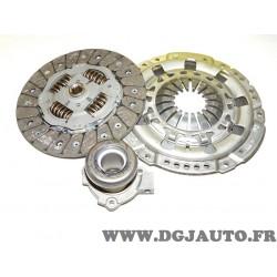 Kit embrayage disque + mecanisme + butée hydraulique 621237834 pour opel astra G H corsa C meriva A signum sintra speedster vect