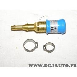 Raccord rapide quickmatic auto obturants pour soudage flamme SAF-FRO FOX 6.3/10mm W000011001