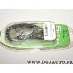 Cordon prise allume cigare chargeur telephone mobile samsung B100 E210 G600 J700 L600 P260 U900 Silcom 80062