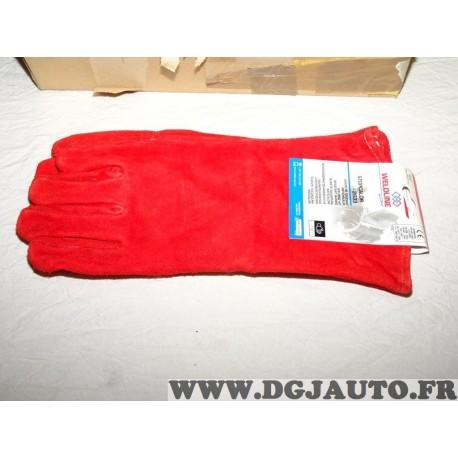 1 Paire de gants anti-chaleur STOPCALOR 2633 protection soudeur Weldline W000380511