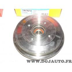 1 Tambour de frein arriere TOUT SEUL TR7573 pour citroen C2 C3 peugeot 206 206+ 1007