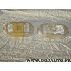 Lot 2 cabochons transparent feu gabarit remorque caravane boyriven 500651