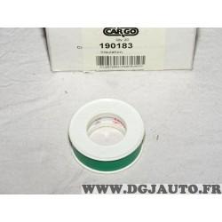 Rouleau isolant PVC coroplast 301 F-PVC 105 A-TX 10 metres vert Cargo 190183