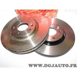 Paire disques de frein avant 333mm diametre ventilé (petit impact sur 1 disque) DF4309S pour volkswagen transporter T5 partir de