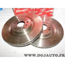 Paire disques de frein avant 350mm diametre ventilé DDF1532 pour mercedes classe ML R GL W164 W251 X164 ML420 ML450 ML500 R280 R