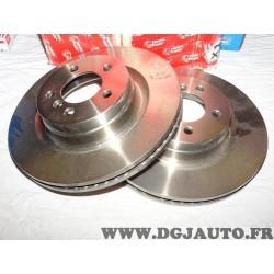 Paire disques de frein avant 344mm diametre ventilé DDF1436 pour land rover range rover L322 partir de 2002