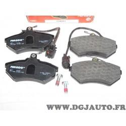 Jeux 4 plaquettes de frein avant montage lucas FDB951 pour volkswagen golf 3 III vento