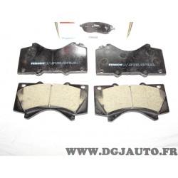 Jeux 4 plaquettes de frein avant montage advics FDB4229 pour toyota land cruiser 200 prado sequoia tundra 2 II lexus LX 3 III J2