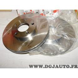 Paire disques de frein avant 282mm diametre ventilé DDF1014 pour volkswagen passat B5 3B2 3B5 audi A4 B7 8EC